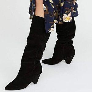 NWOT Senita knee high boots
